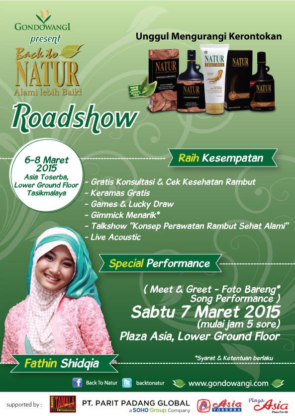 Roadshow Natur 2015 Bersama Fathin Shidqia