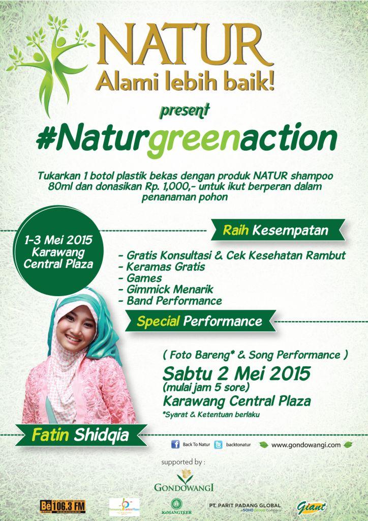 Event Natur Green Action 2015 - CSR-Karawang Plaza - Jawa Barat